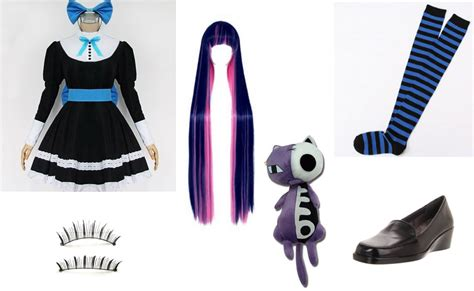 Wig Base Purple Wig Rize anarchy costume diy guides for