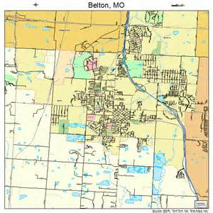 belton missouri map 2904384