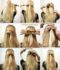 how to make a hair bow easy 16 ways to make an adorable bow hairstyle pretty designs