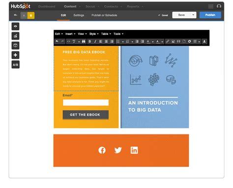 Getresponse Landing Pages Vs Hubspot Landing Pages Hubspot Landing Page Templates