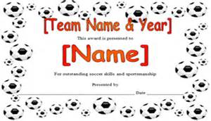 soccer certificate templates for word sport certificates