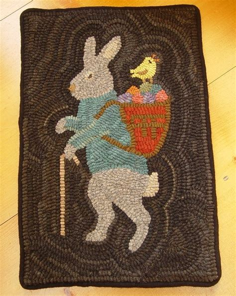 Rabbit Rug by 21 Best Images About Rug Hooking Rabbits On
