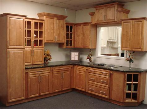 Kraftmaid Kitchen Cabinets Pricing by Mayfair Maple Spice Kitchen Cabinets Low Cost Kitchen