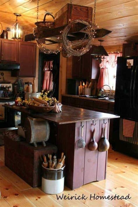 Decorating Ideas For A Primitive Kitchen Best 10 Primitive Kitchen Decor Ideas On