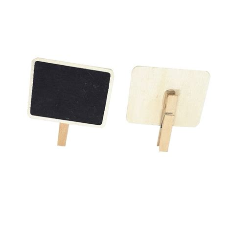 Mini Clip Chalkboard by Mini Clip On Blackboard For Message Small Wooden