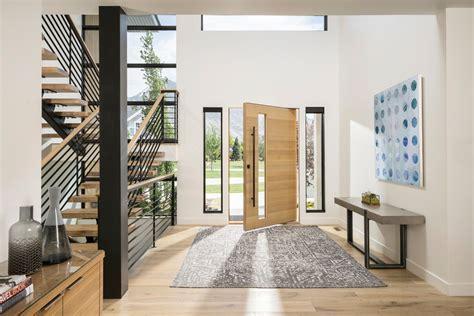 beautiful contemporary entry hall interiors designed