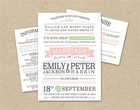 modern wedding invitation printable amazing modern vintage wedding invitations elite wedding