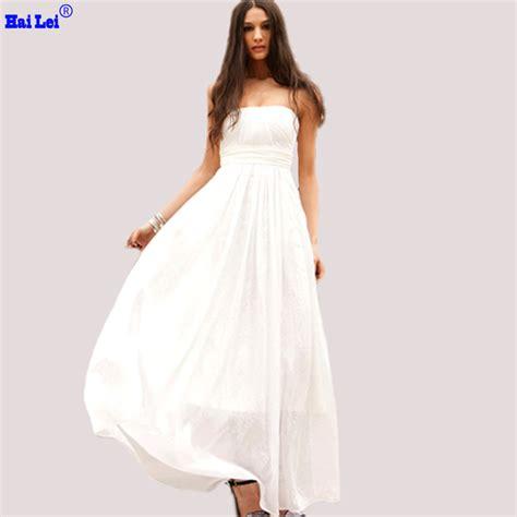 2015 summer white dresses woman formal dresses long