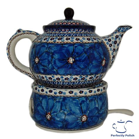 blue pattern pottery polish pottery teapot blue pattern tea rooms tea pots