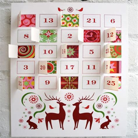 how to make an advent calendar with paper home dzine crafts and hobbies how to make an advent calendar