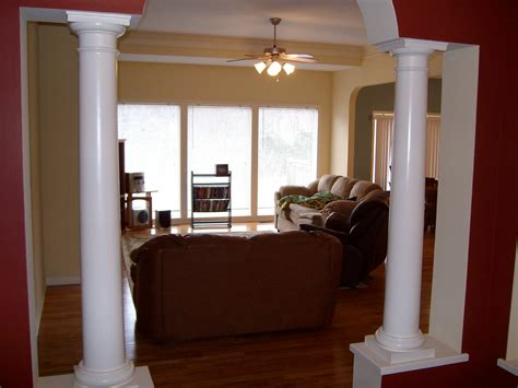 formal dining room columns 1906 potomac