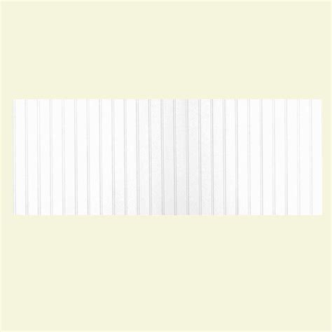 Prefab Wainscoting by Swan 8 Ft X 3 Ft Beadboard One Easy Up Adhesive