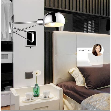 swing arm lights bedroom free shipping bedroom modern wall l swing arm wall