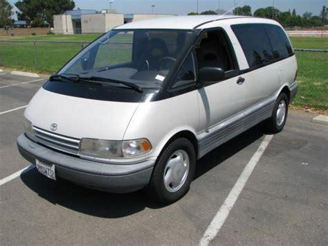 1992 Toyota Previa Used Toyota Previa For Sale Carsforsale