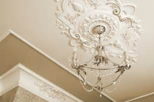 dress up your lights with decorative ceiling medallions