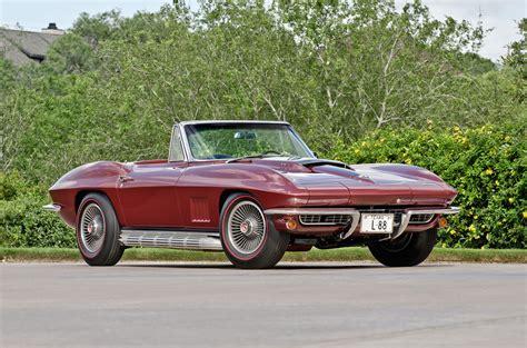 vintage corvette 1967 chevrolet corvette sting ray l88 roadster gallery