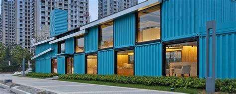 contenedores oficinas edificio con contenedores 4housing
