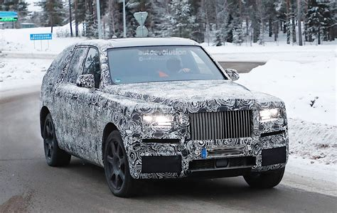 2018 rolls royce cullinan 2018 rolls royce cullinan spied testing with the