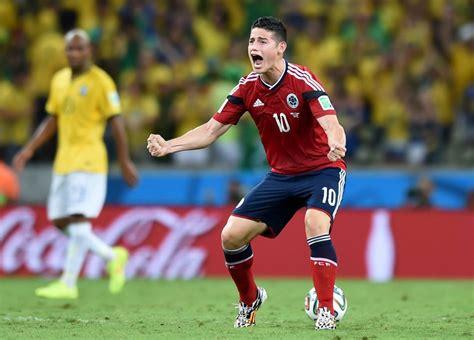 imagenes de james llorando en el mundial las mejores im 225 genes de james en el juego ante brasil