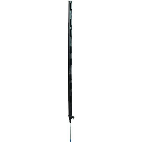 black  foot step  post electric fence wire zareba