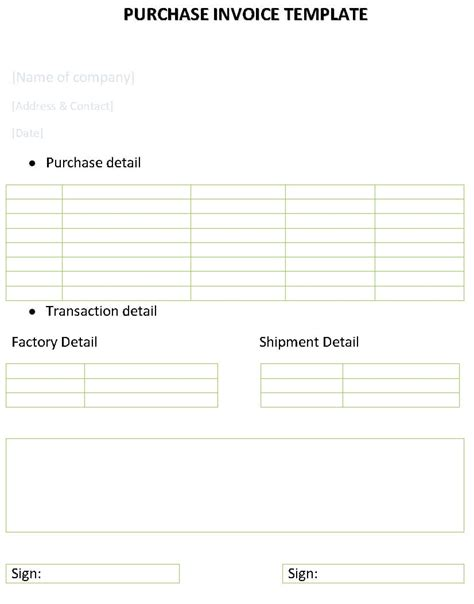 create   invoice invoice template ideas