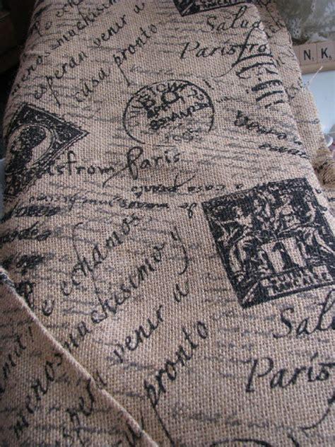 printed burlap upholstery fabric wayside treasures printed burlap at joann fabric