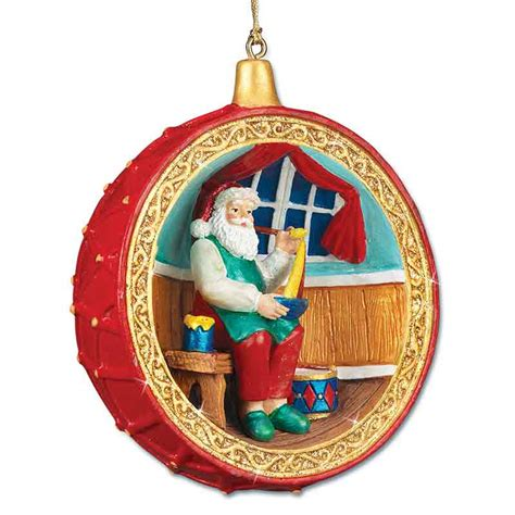 santa at the north pole ornament collection your 1st one