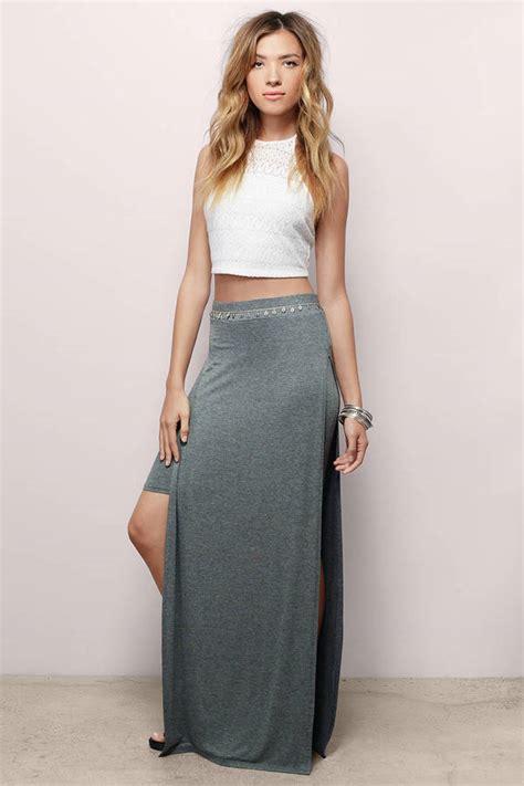 Layered Maxi Skirt layered up maxi skirt 48 tobi us