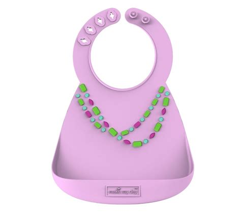 Make My Day Bib Owl Ungu baby bib silicone bib make my day only 22 95