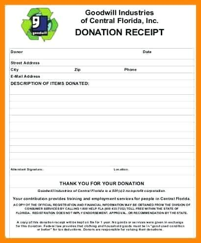 salvation army donation receipt template salvation army donation form receipt mindofamillennial me