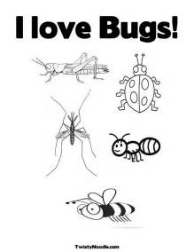 love bug colouring pages