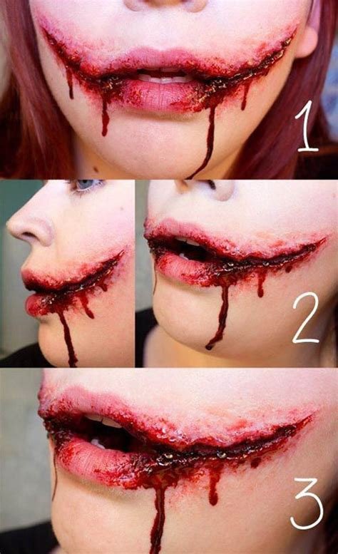 special effects halloween makeup 35 disgusting and scary halloween makeup ideas on