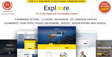 Exploore V3 1 0 Tour Booking Travel Theme exploore v3 1 0 wp responsive tour booking travel theme