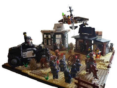 Le Go Flickr by Moc The Lego Western Escape Here It Is Guys
