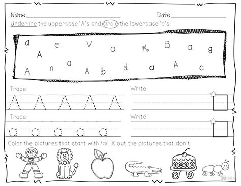 printable alphabet test kindergarten practice writing alphabet easily loving printable