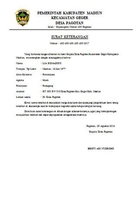 contoh surat pengumuman kegiatan ekstrakurikuler sekolah