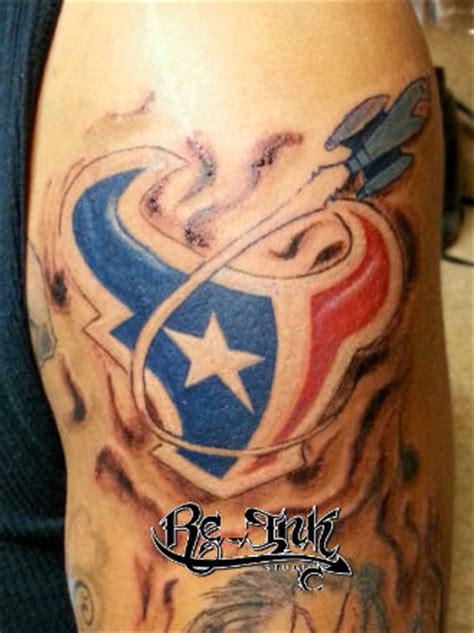 New School Tattoo Houston | houston texans tattoos images google search houston