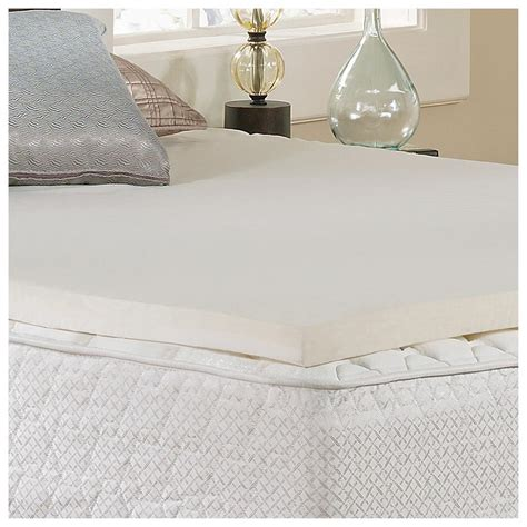 Memory Foam Mattress Topper For Pack And Play by Tranquil Sleep 174 2 Quot Gel Memory Foam Topper With Cover