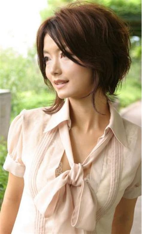 hairstyles for asian women over 40 womens short trendy hairstyles pictures gallery