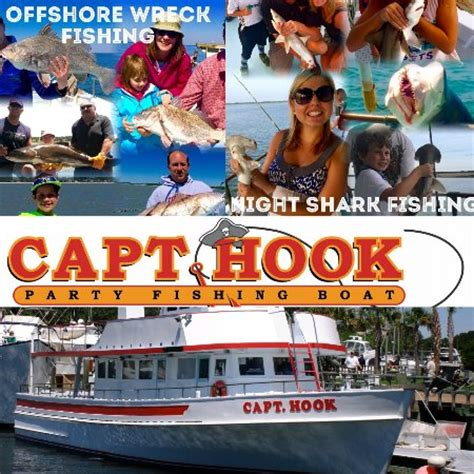 captain hook fishing boat hilton head black tip shark picture of captain hook party fishing