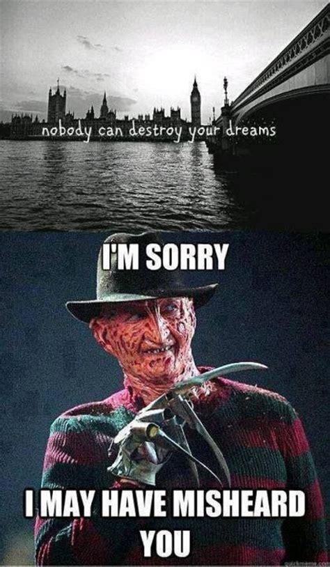 Freddy Krueger Memes - freddy krueger http makecoolmeme com popular meme freddy krueger quotes pinterest