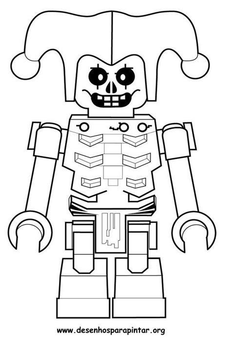 Lego NinjaGo – Desenhos para imprimir pintar e colorir