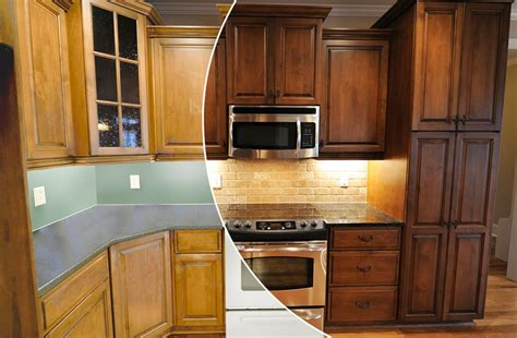 Cabinet Color Change by N Hance Wood Renewal Succasunna Nj 07876 Angies List