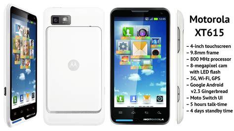 Hp Motorola Xt615 Motorola Moto Xt615 Spesifikasi