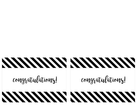 Free Printable Congratulations Cards