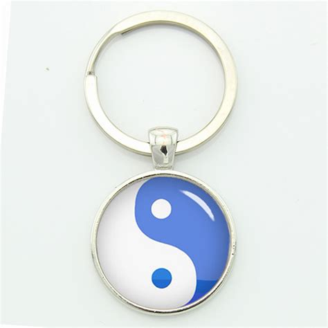 Taoism Sign Ancient Eight Diagrams Pendant Necklace Charms Yin fashion keyholder promotion shop for promotional fashion keyholder on aliexpress