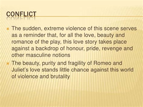 themes of romeo and juliet act 1 scene 4 act 3 scene 1