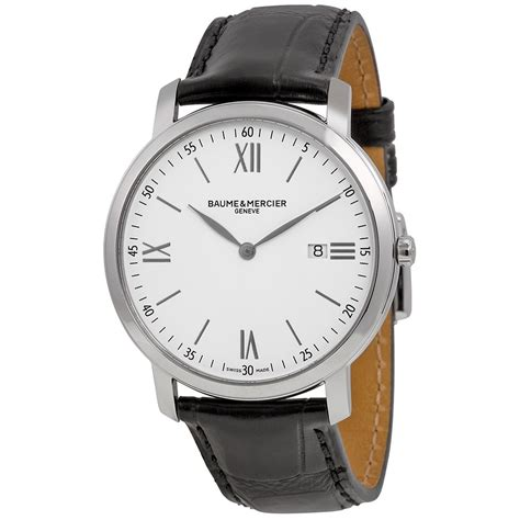 baume and mercier classima executives white s