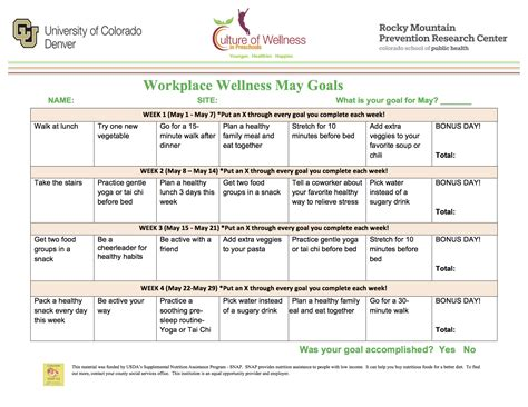 Corporate Wellness Program Template Workplace Wellness Culture Of Wellness In Preschools