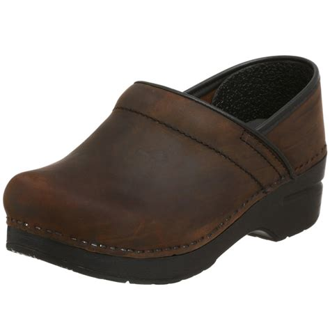 brown clogs for dansko clog antiqued brown leather my style